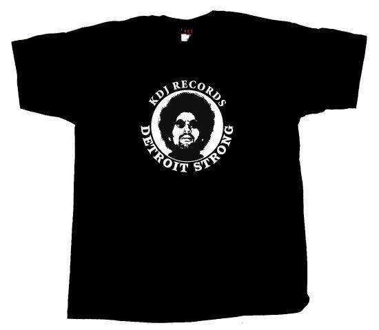 MOODYMANN - T-shirt KDJ Records Detroit Strong (MAHOGANI MUSIC)