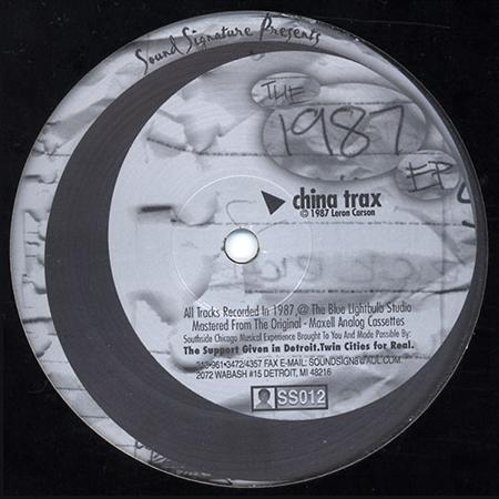 THEO PARRISH - The 1987 EP  (SOUND SIGNATURE)
