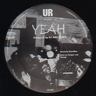 UNDERGROUND RESISTANCE - All We Need/Yeah  (UNDERGROUND RESISTANCE)