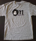 "MOODYMANN - T-shirt ""Mahogani Music"" GREY - size: LARGE  (MAHOGANI MUSIC)"