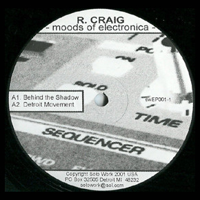 R CRAIG - Moods of Electronica  (SOLO WORK)