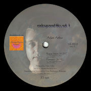 ADAM ARTHUR / MICHAEL KUNTZMAN - Underground Files Vol 1  (ALLEVIATED RECORDS)