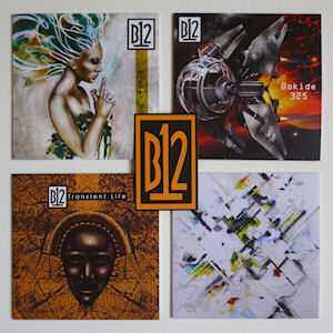 B12 - BrokenUnBroken / Bokide 325 / Orbiting Souls / Transient Life  [Limited Edition coloured CDr bundle]  (FIRESCOPE/SOMA/DELSIN/DE:TUNED)