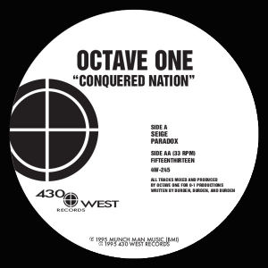 OCTAVE ONE - Conquered Nation  (430 WEST)