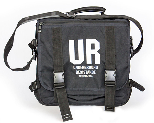 UNDERGROUND RESISTANCE - Record Bag BLACK