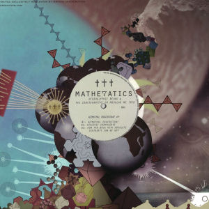 HIEROGLYPHIC BEING & THE CONFIGURATIVE OR MODULAR ME TRIO - Azimuthal Equidistant EP  (MATHEMATICS)