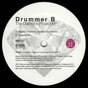 DRUMMER B - The Diamond Project EP  (TRANSMAT)