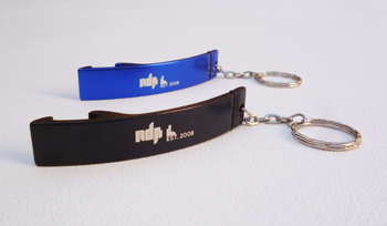 "NDATL Muzik - Keychain Bottle Opener ""Life Is Good After a Session"""