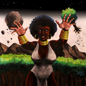 BLAKE - Chapter I: The Black Godess (A0OR)  (TRITON)