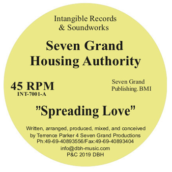 SEVEN GRAND HOUSING AUTHORITY - Spreading Love  (INTANGIBLE)
