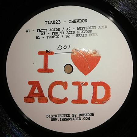 CHEVRON - I Love Acid #23  (I Love ACID)