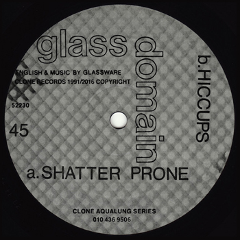 GLASS DOMAIN - Glass Domain EP  (CLONE)