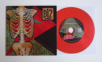 B12 - Deceased Unknown [Limited Edition coloured CDr release]  (FIRESCOPE/B12 RECORDS)