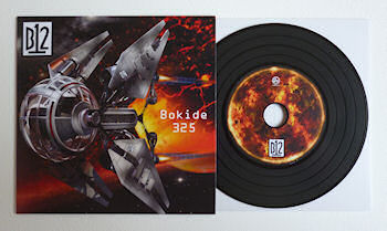 B12 - Bokide 325 EP [Limited Edition coloured CDr release]  (SOMA RECORDINGS)